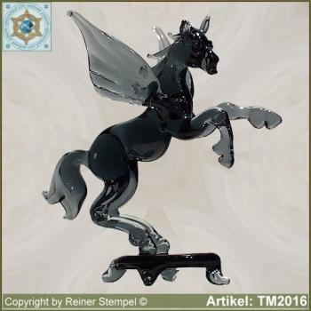 Glass animals glass figurines horses pegasus